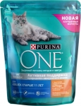 Сухой корм PURINA ONE для пожилых кошек старше 11 лет с курицей и злаками 750 гр.