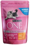Сухой корм PURINA ONE для котят с курицей и злаками 750 гр.